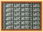 Conquering Writers Block